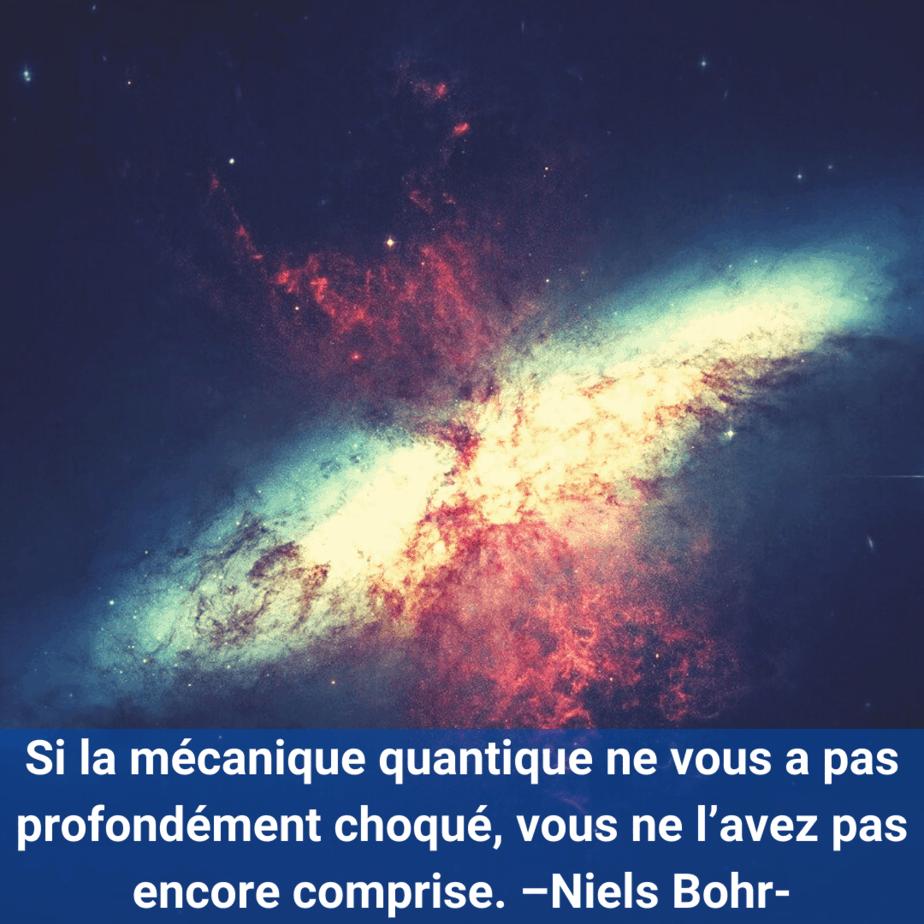 citation- Niels Bohr- l'univers-